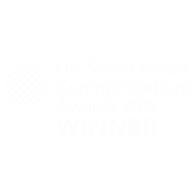 UK social media comms awards 2019 winner