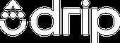 Drip Wordmark White