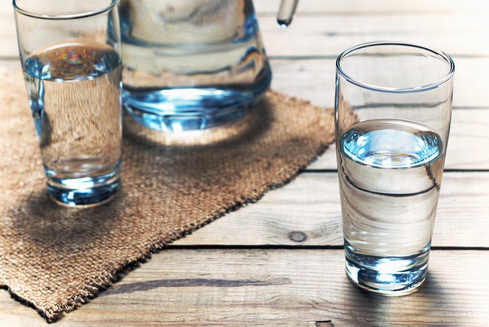 Water in situ.