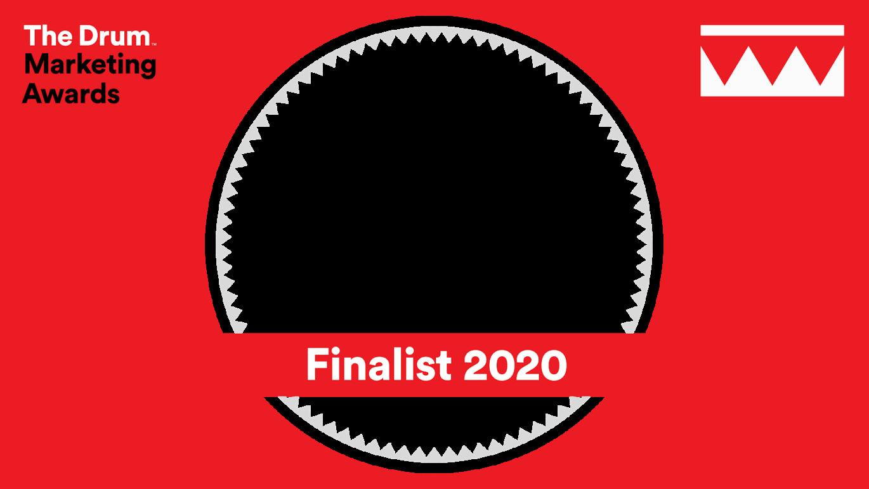 Drum marketing awards logo