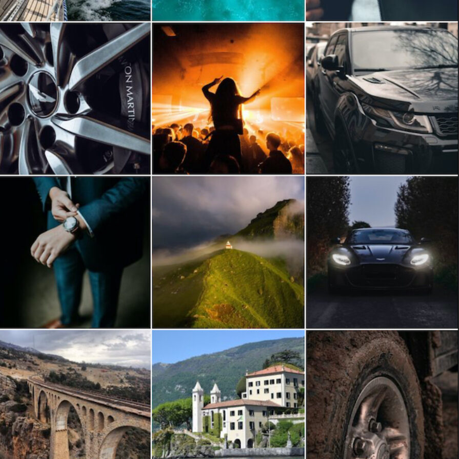 What would James Bond's Instagram look like?