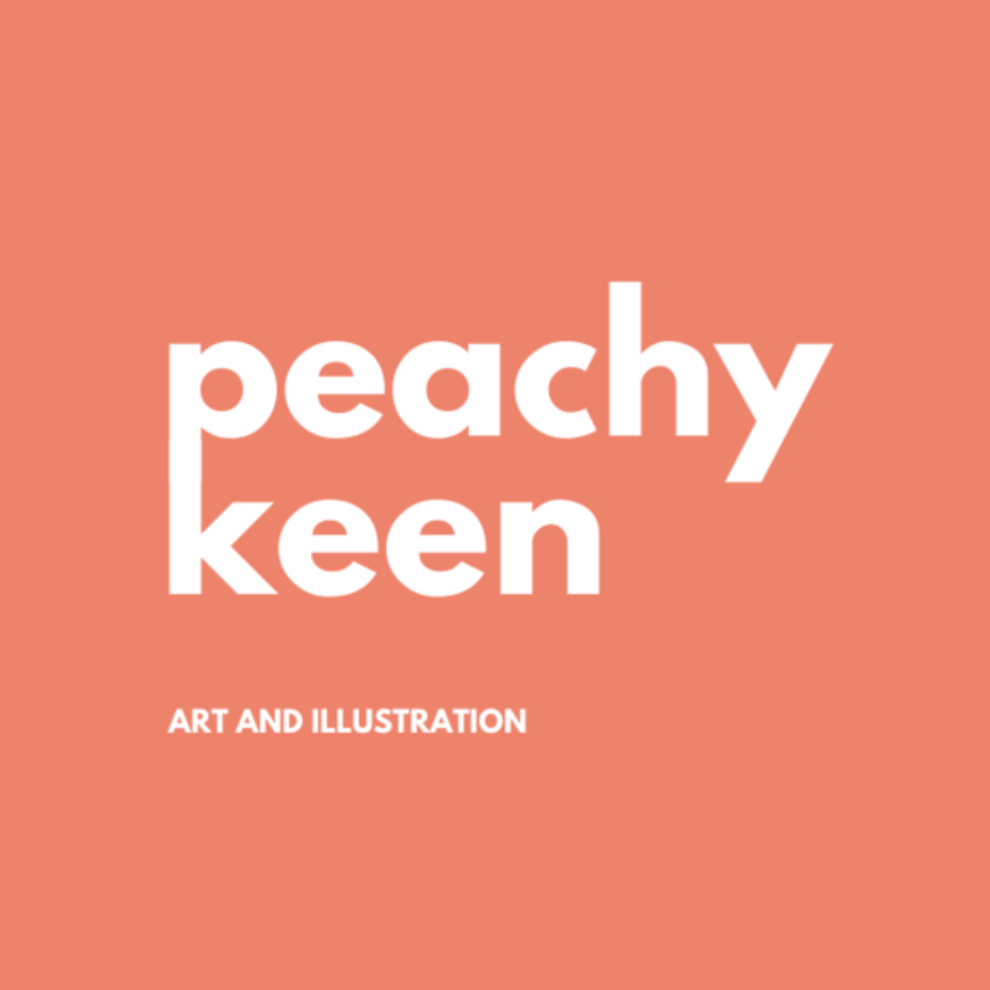 How I use TikTok as a small business owner - Amy Keen of Peachy Keen Art and Illustrations