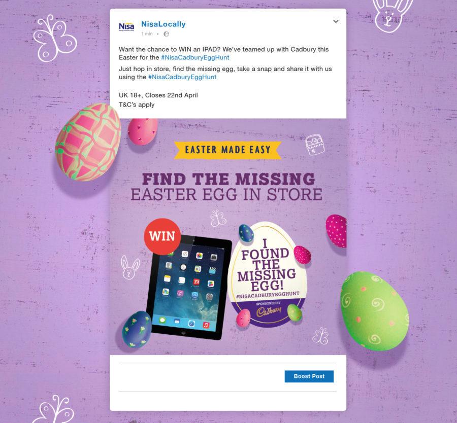 Cadbury campaign.