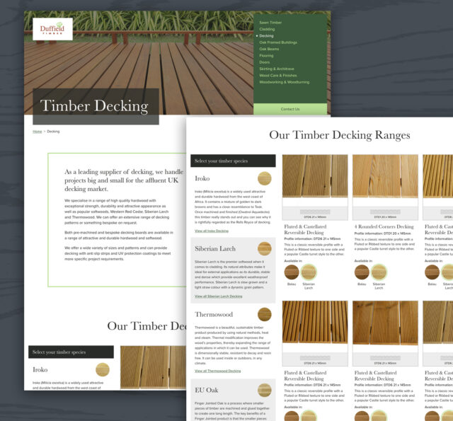 Duffield Timber