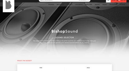 BishopSound - Website