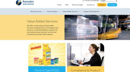 Ramsden International - Website